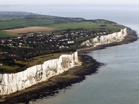 Kent is home to the White Cliffs of Dover