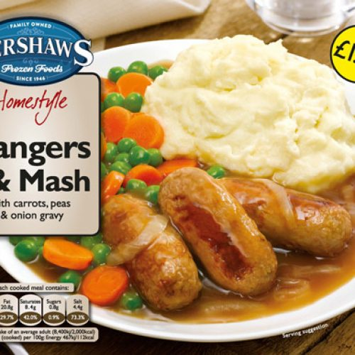PM 1.79 Kershaws Bangers & Mash - Frozen Food