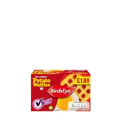 BIRDS EYES - POTATO WAFFLES ONLY £1.99