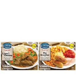 KERSHAWS DINNERS - ONLY £7.50