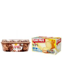LYONS MAID - BUY ANY DIFFERENT 3 AND GET 1 FREE