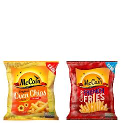 MCCAIN - CHIPS AND FRIES SALE