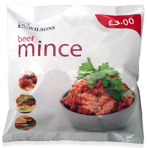 PM £3.00 Wilsons Mince Beef_8x400g_18.25_Meat & Poultry