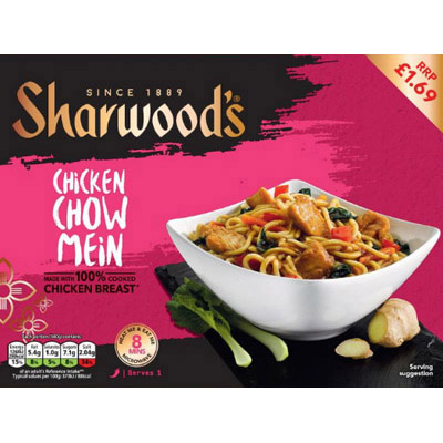 PM £1.69 Sharwood's Chow Mein