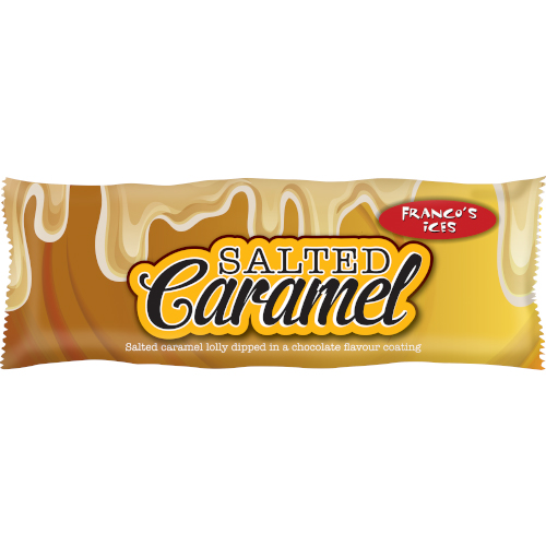 Franco's Salt Caramel Lolly