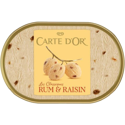 Carte D'or Rum Raisin