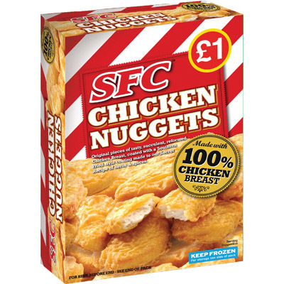 PM £1.00 SFC Chicken Nuggets UNIT