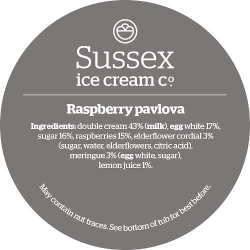 Sussex Raspberry Pavlova