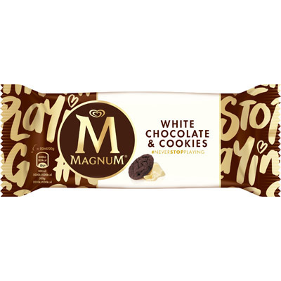 Magnum White Chocolate & Cookie