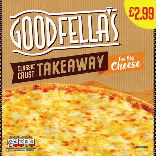 PM £2.99 Goodfella's Takeaway Cheese