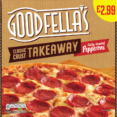 PM £2.99 Goodfella's Takeaway Pepperoni