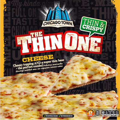 Chicago Town Thin One Triple Cheese