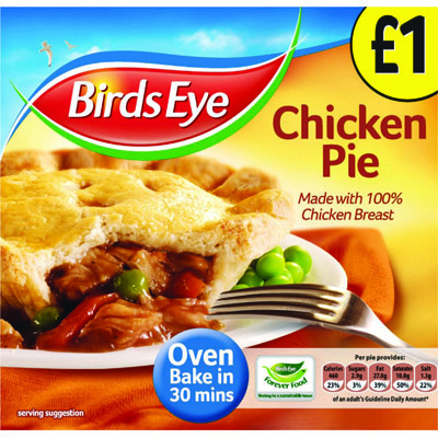 PM £1.00 Birds Eye Chicken Pie