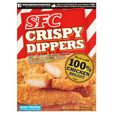 SFC Southern Fried Crispy Dippers CASE