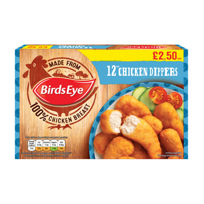 PM £2.50 Birds Eye Chick Dippers