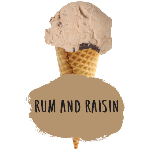 4lt Marshfield Rum & Raisin