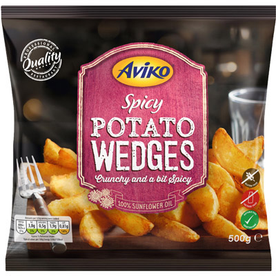 Aviko Spicy Potato Wedges