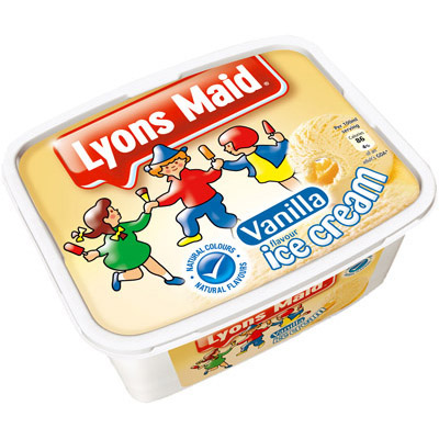 Lyons Maid 2lt Vanilla Ice Cream