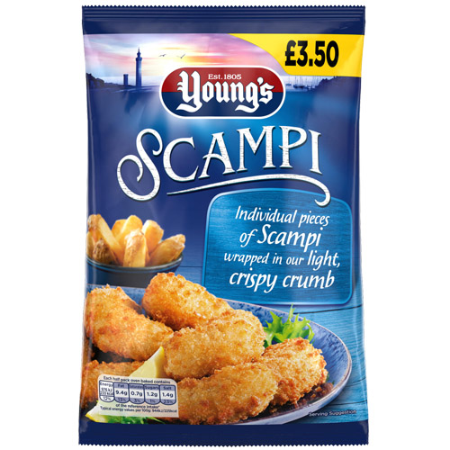 PM £3.50 Young's Scampi UNIT