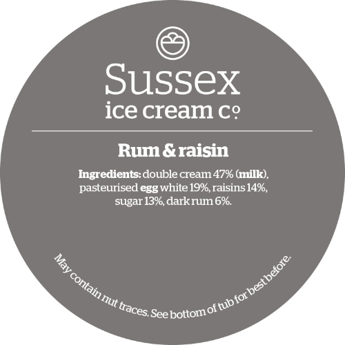 Sussex Navy Rum & Raisin