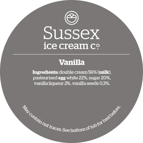 Sussex Ice Vanilla