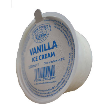 New Forest Cup Vanilla