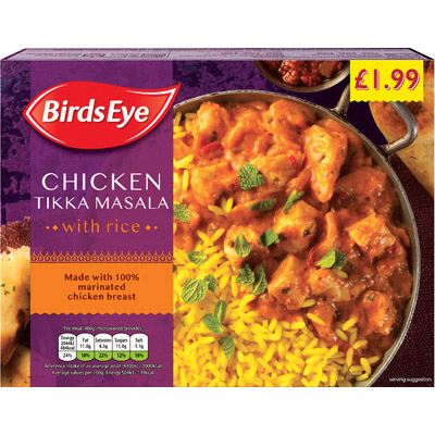 PM £1.99 Birds Eye Chicken Tikka Masala
