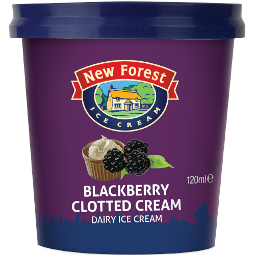 New Forest Dairy Blackberry Clotted Cream
