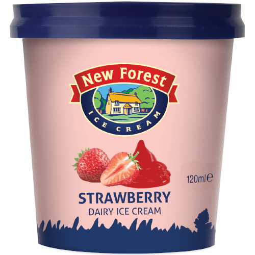 New Forest Dairy Strawberry Cups