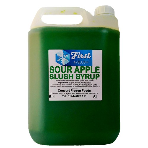 Slush Sour Apple