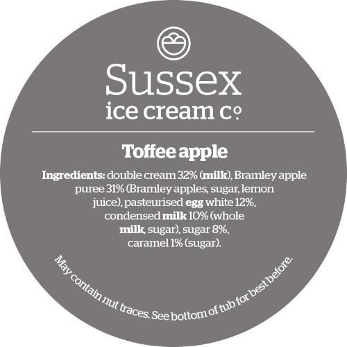 Sussex Toffee & Bramley Apple