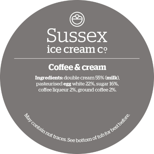 Sussex Coffee Cream