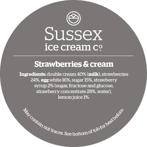 Sussex Strawberries & Cream
