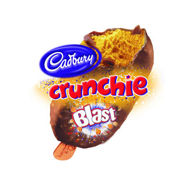 Crunchie Blast Ice Cream_24x100ml_28.8_Impulse Ice Cream