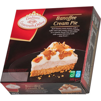 Coppenrath Banoffee Cream Pie