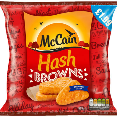 PM £1.99 McCainHash Browns UNIT