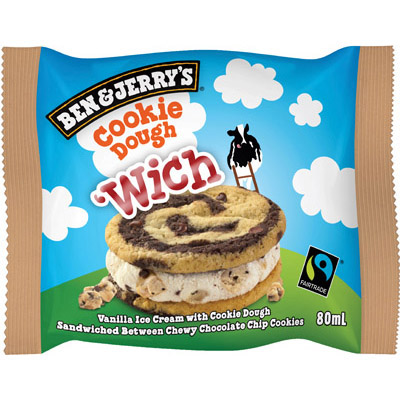 Ben & Jerry's WICH Cookie Dough_20x80ml_Impulse Ice Cream