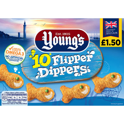 PM £1.50 Young's 10 Flipper Dippers