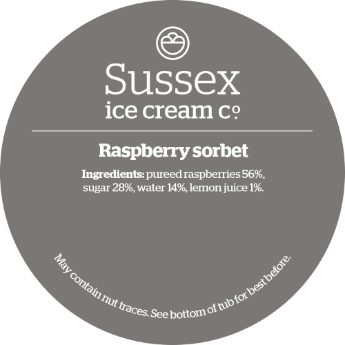 Sussex Raspberry Sorbet