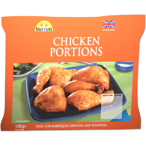 Harvest Chicken Portions UNIT