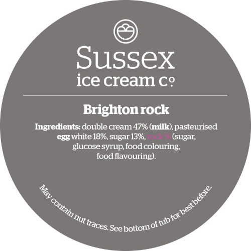 Sussex Brighton Rock