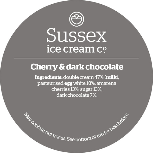 Sussex Amarena Cherry & Dark Chocolate