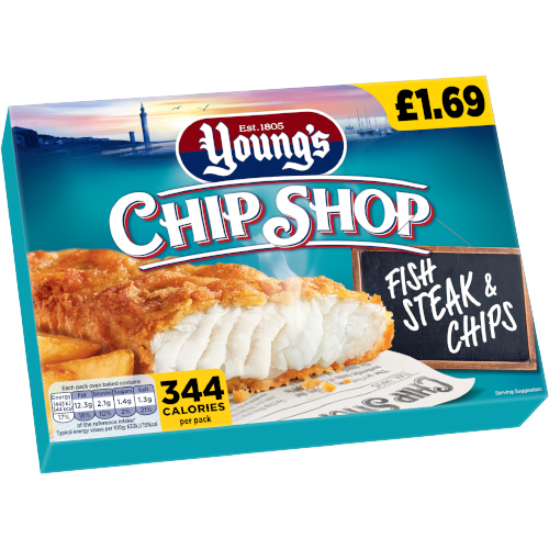PM £1.69 Young's Fish & Chips