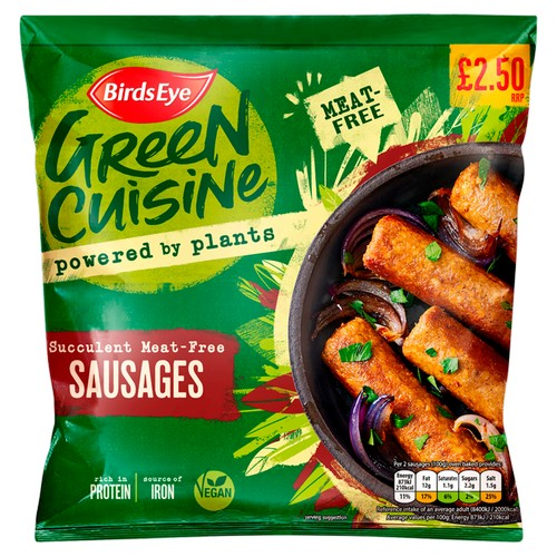PM £2.50 Green Cuisine Vegan Sausages