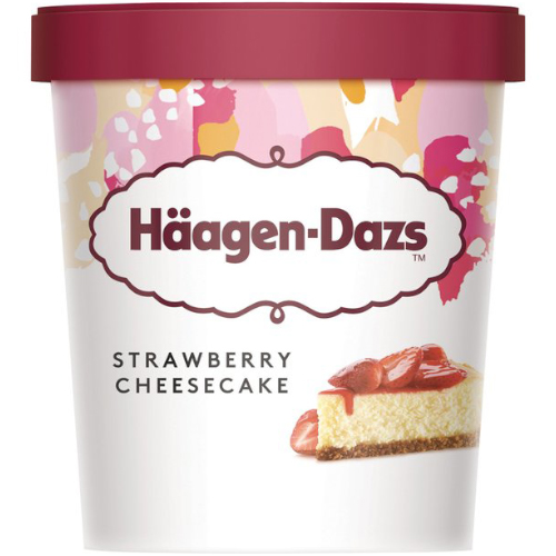 Häagen Dazs Straw Chs 95ml_12x95ml_14.57_Impulse Ice Cream