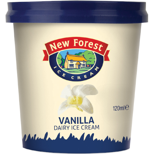 New Forest Dairy Vanilla Cup