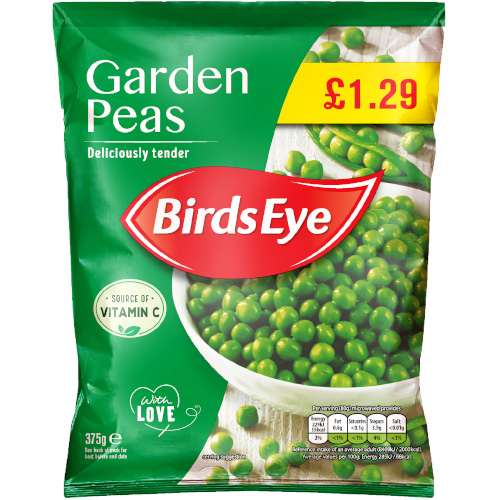 PM £1.29 Birds Eye Garden Peas