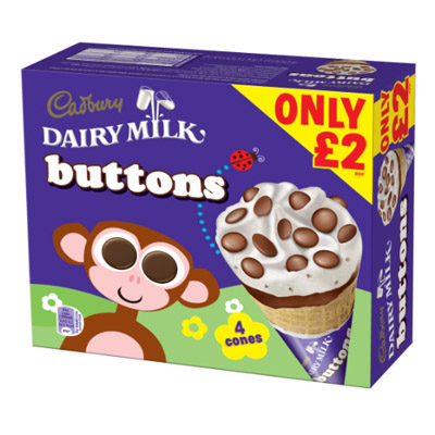 PM £2.00 Cadbury Buttons Multipack