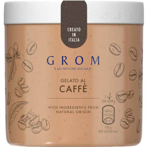 GROM Caffe_8x460ml_34.00_Take Home Ice Cream