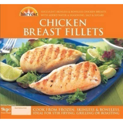 Harvest Chicken Breast Fillets UNIT